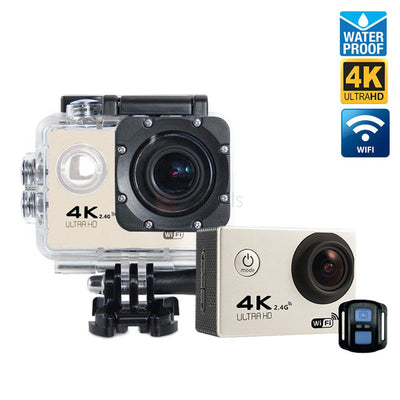 Wi-Fi 4K Waterproof Sports Action Camera