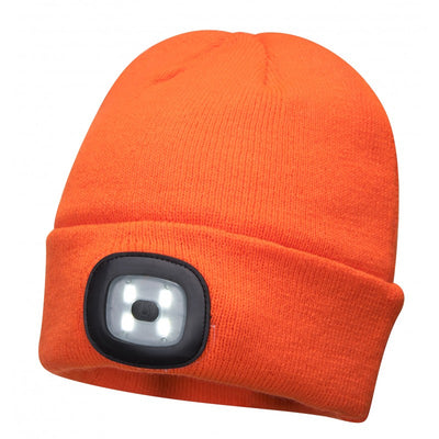 Portwest Beanie LED Rechargeable Head Light