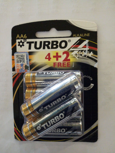 Turbo AA batteries