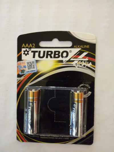Turbo AAA batteries