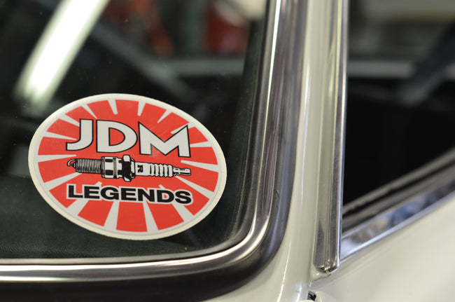 LIMITED EDITION RUN JDML Spark Plug Sticker