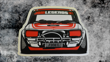 """Chancho the Shop Truck"" JDM Legends Datsun 620 Shop Truck Sticker"