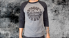 LIMITED EDITION RUN Unisex Gray Baseball Tee