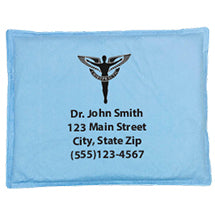 "Personalized 10"" x 13"" Fabric Hot/Cold Pack"