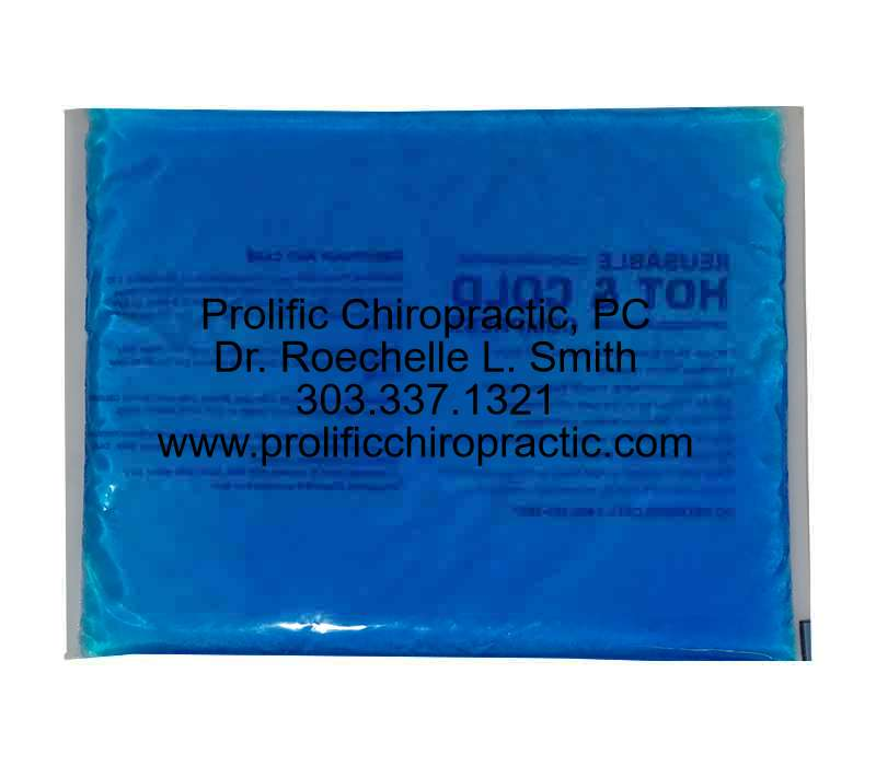"Personalized 10"" x 15"" Reusable Hot/Cold Gel Pack"