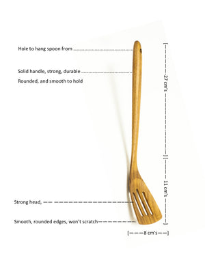 Teak Fish Slice Medium