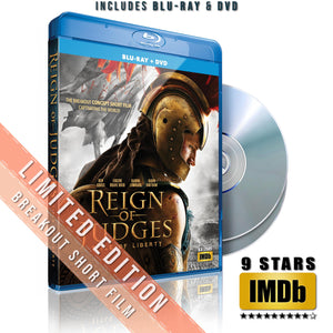 BLU-RAY + DVD LIMITED (#s 1000-2500)