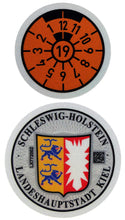 Kiel - German License Plate Registration Seal (KI)