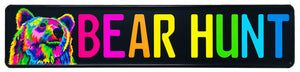 Bear Hunt License Plate