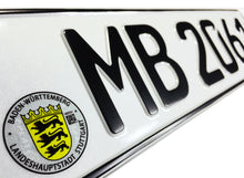 Stuttgart German License Plate for Mercedes-Benz, Porsche