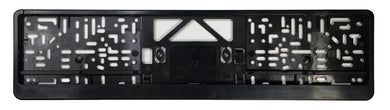 Standard German / European License Plate Frame - Black