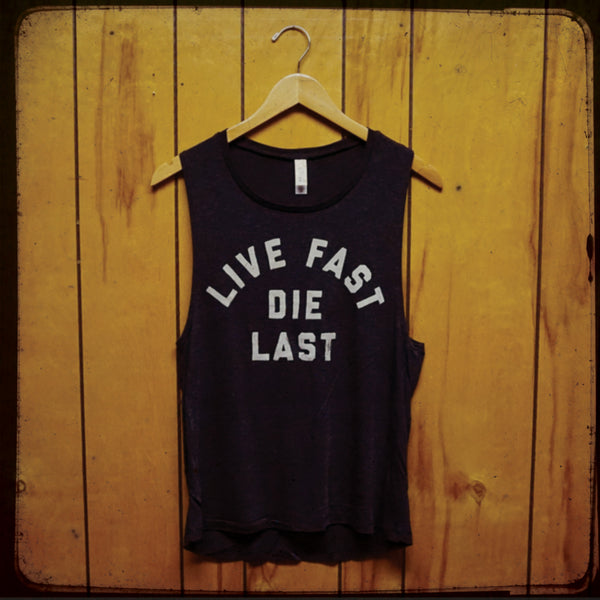 Live Fast Ladies Muscle Tank