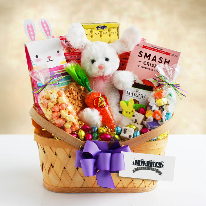 Easter Sweets & Treats Bunny Basket