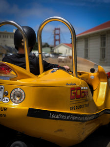 GoCar Golden Gate Bridge & Back
