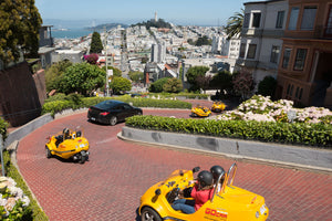 GoCar Lombard Loop + Presidio Tour (2-Hour)