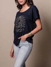 Buddha Tee with Flowy Sleeves and Fit
