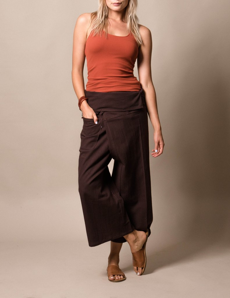 Fisherman Pants in Brown