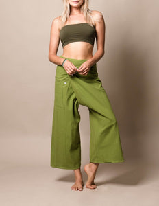 Sivana Thai Fisherman Pants - Fern