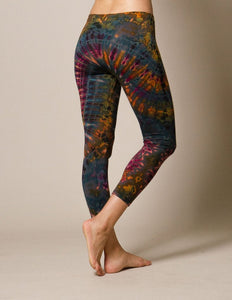 Fair Trade Yoga Tie Dye Leggings