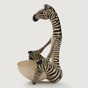 Zebra Pose Bowl
