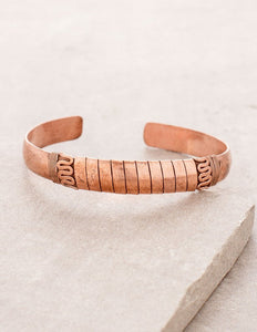 Copper Healing Bracelet with Unique Design Fair Trade Made