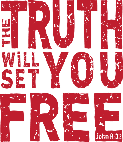 Ladies Junior Fit Crew - The Truth Will Set You Free