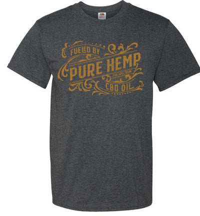 Men's Husky Fit Crew - Fueled By Hemp