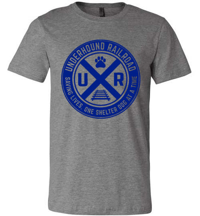 Men's Athletic Fit Crew - Underhound Railroad