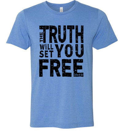 Men's Athletic Fit Crew - The Truth Will Set You Free