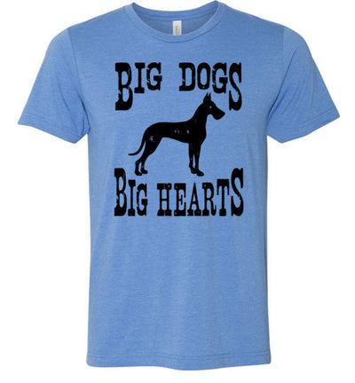 Men's Athletic Fit Crew - Big Dogs Big Hearts Cropped Ears