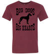 Men's Athletic Fit Crew - Big Dogs Big Hearts Floppy Ears