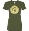 Ladies Junior Fit Crew - NCC4CR Olive