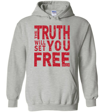 Hoodie Pullover - The Truth Will Set You Free