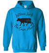 Hoodie Pullover - Lettuce Leaf The Cows Alone