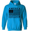 Hoodie Pullover - Freedom Worth Fighting For