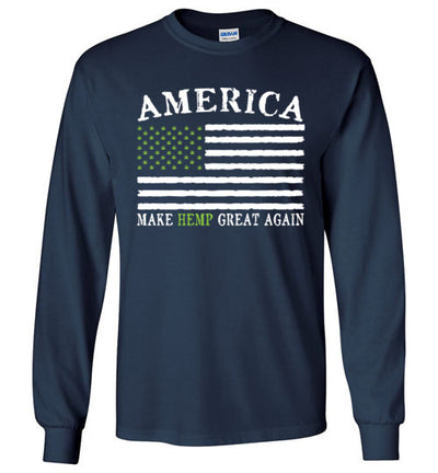 Long Sleeve - America, Make Hemp Great Again