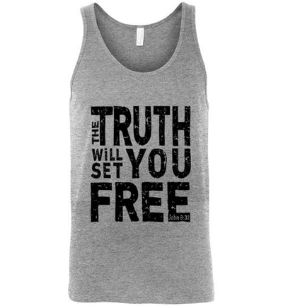 Classic Fit Unisex Tank - The Truth Will Set You Free