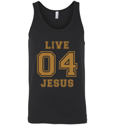 Classic Fit Unisex Tank - Live For Jesus