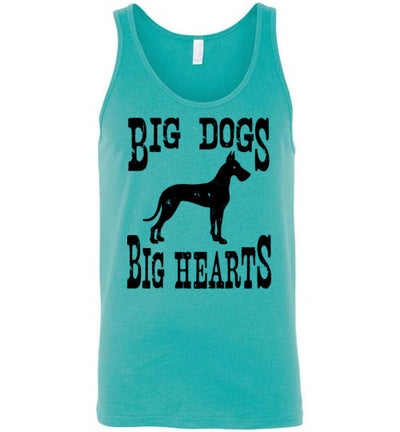 Classic Fit Unisex Tank - Big Dogs Big Hearts Cropped Ears