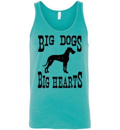 Classic Fit Unisex Tank - Big Dogs Big Hearts Floppy Ears