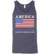 Classic Fit Unisex Tank - Freedom Worth Fighting For