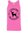 Classic Fit Unisex Tank - Little Dogs Big Attitude Chihuahua