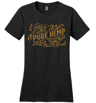 Ladies Classic Fit Crew - Fueled By Hemp