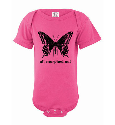 Baby Romper Short Sleeve - All Morphed Out