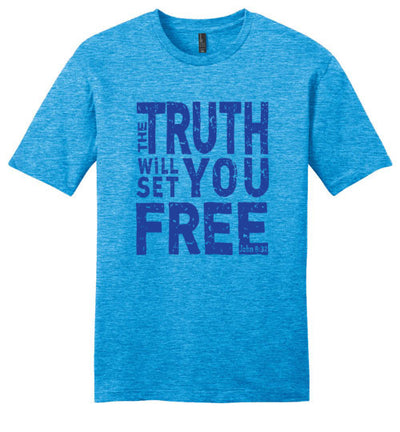 Men's Classic Fit Crew - The Truth Will Set You Free