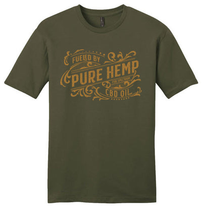 Men's Classic Fit Crew - Fueled By Hemp