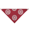 Underhound Bandana Red & White