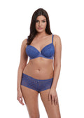 Freya Soiree Lace Plunge Bra- Denim