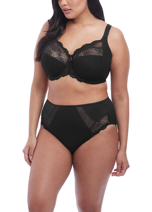 Elomi Meredith Underwire Banded Bra- Black