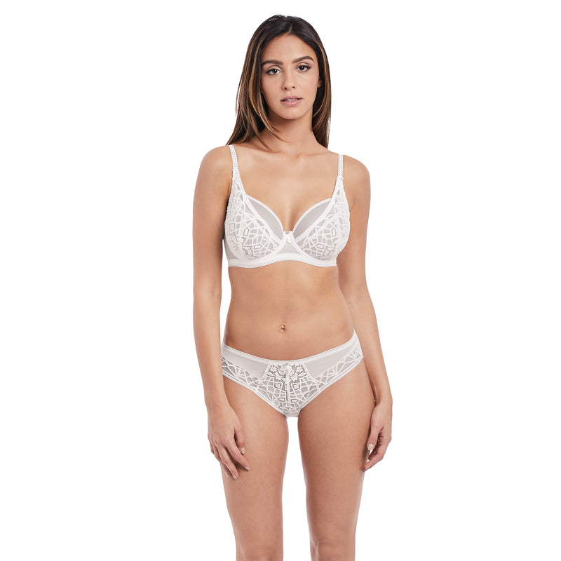 Freya Soiree Lace High Apex Bra- White